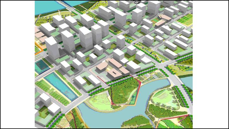 Khu chức năng số 3 là một khu chức năng dân cư hỗn hợp nằm dọc bờ Bắc Thủ Thiêm