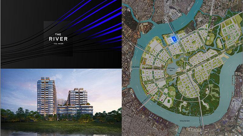 Vị trí đáng mơ ước của The River Thủ Thiêm
